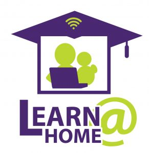 LEARN @ HOME LOGO 2 Colour 3